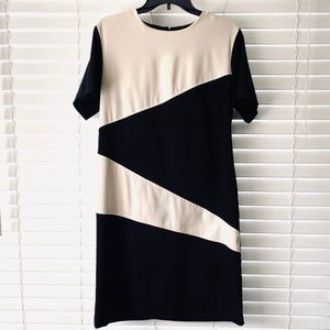 Sag Harbor Color Block Shift Dress Size 12